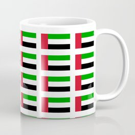 flag of UAE -united arab Emirates,Abu dhabi, dubai,emirati,الإمارات Coffee Mug