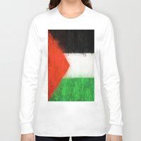 palestine Long Sleeve T-shirts featuring Palestine by 2b2dornot2b