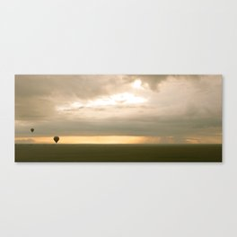 Sunrise over Serengeti Canvas Print