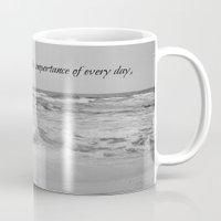 jane austen Mugs featuring Jane Austen Every Day by KimberosePhotography