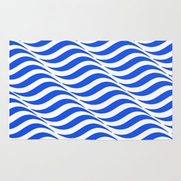 Blue Waves Rug