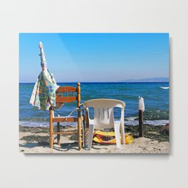 Seaside morning Metal Print