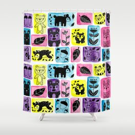 Alaska Bears Shower Curtain