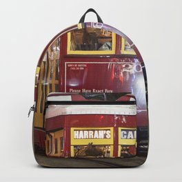 New Orleans Canal Street Car at Night Backpack