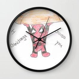 Merc Chimichanga Wall Clock