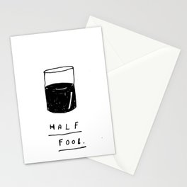 HALF FOOL Stationery Cards