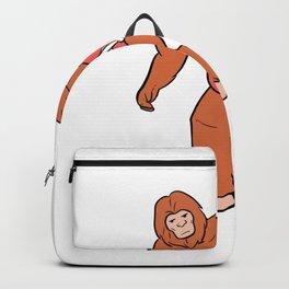 Skate Ape Skater Boy or Girl Gift Backpack