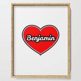 Love for BENJAMIN Serving Tray