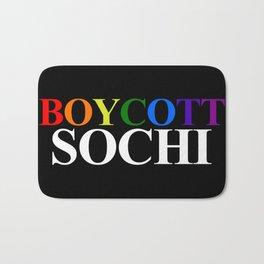 Boycott Sochi Bath Mat