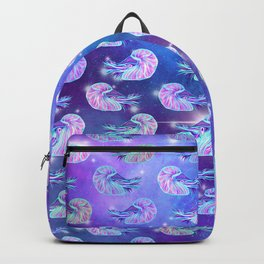 The Celestial Chambered Nautilus Backpack