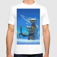 Coming Home Mens Fitted Tee MEDIUM White