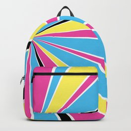 CMYK Star Burst Backpack
