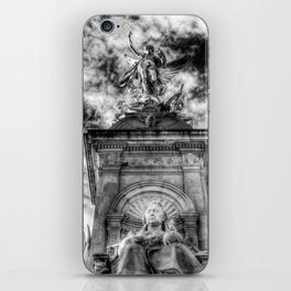 Queen Victoria Memorial London iPhone Skin