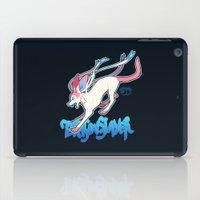 sylveon iPad Cases featuring Dragonslayer by Leonie X. Li