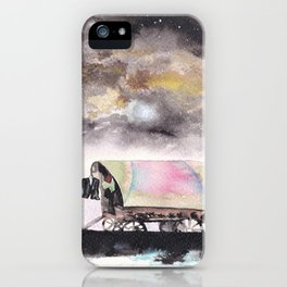 Rising stars above iPhone Case