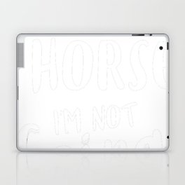 Horse-tshirt,-my-Horse Laptop & iPad Skin