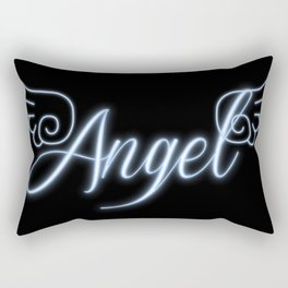 Angel with Wings Rectangular Pillow