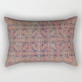 Traditional vibrant rug Rectangular Pillow