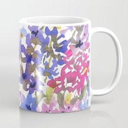 Blue Delphinium Garden Coffee Mug