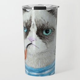 Sailor Cat I Travel Mug