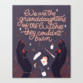 Granddaughters of the Witches Canvas Print