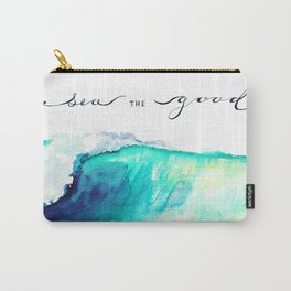 Sea The Good Carry-All Pouch