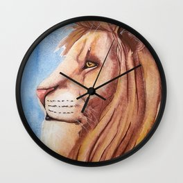 Lion of the Tribe of Judah Wall Clock
