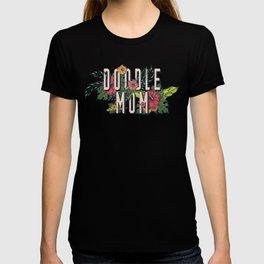 Floral Doodle Mom T-shirt