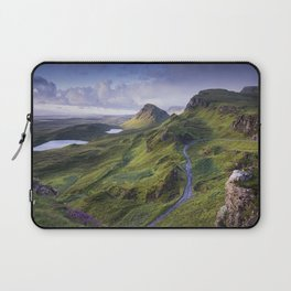 The Road to the Quiraing Laptop Sleeve