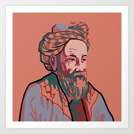 Omar Khayyam Art Print