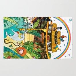Noah's Ark Rug