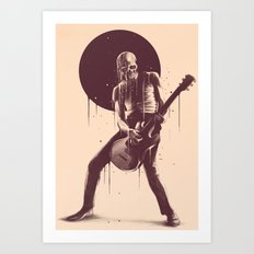 Face Melting Art Print