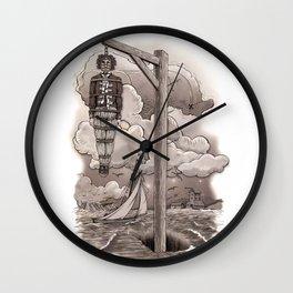 Captain Kidd Wall Clock