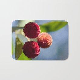 Strawberry tree fruits 8697 Bath Mat