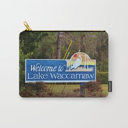 Welcome To Lake Waccamaw Carry-All Pouch