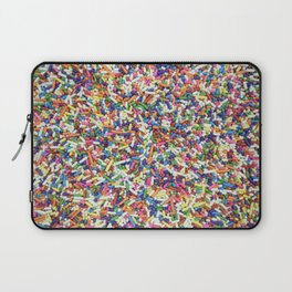 Rainbow Candy Dessert Sprinkles Laptop Sleeve