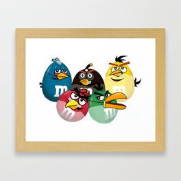 The Mad Candies  Framed Art Print