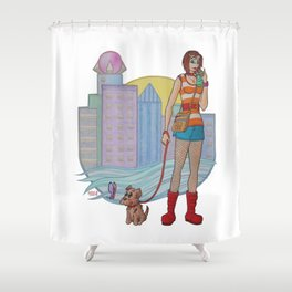 Summer Daze Shower Curtain