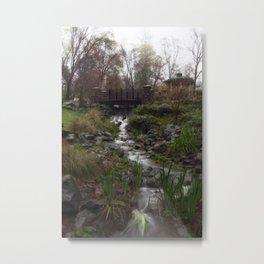 It's all water under the bridge.  Metal Print