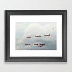 The Red Arrows Framed Art Print