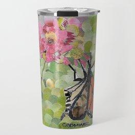 """"""" Monarch On A Flower """" Travel Mug"""