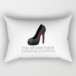My Shoes Have Heeling Powers Rectangular Pillow