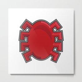 Spidy Symbol  Metal Print
