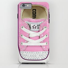 esrevno)-I  #11 Pink & Diamonds. iPhone Case