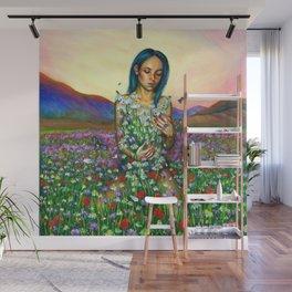 Loves me. Loves me not Wall Mural