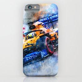 Lando Norris No.4 iPhone Case