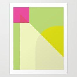 Cacho Shapes XCVI Art Print
