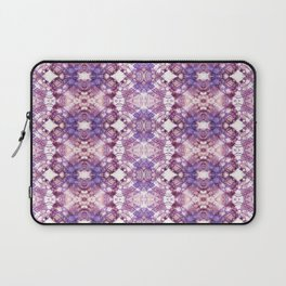 Purple Tie Dye Modern Abstract Pattern Design Laptop Sleeve