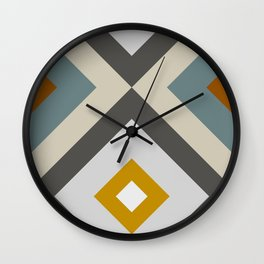 Mid West Geometric 04 Wall Clock