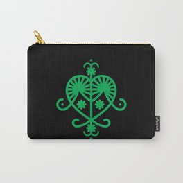 Green Veve Carry-All Pouch